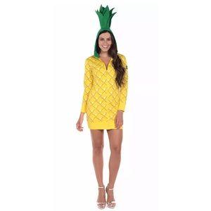 Tipsy elves pineapple costume dress sz small